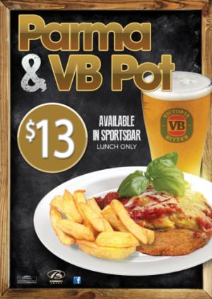 $13 VB Pot & Parma