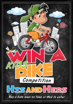 Win a Kids Bike Competition