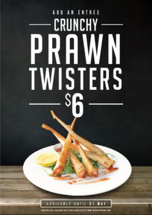 $6 Prawn Twisters