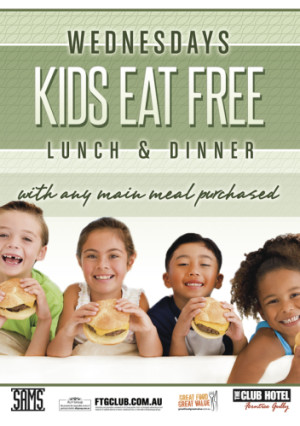 Wednesdays Kids Eat Free