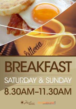 Saturday & Sunday Breakfast