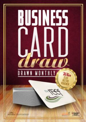 Business Card Draw