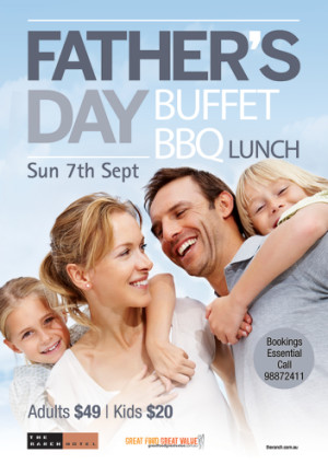 Father's Day Buffet BBQ Lunch