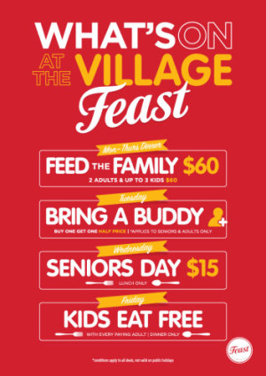 What's On At The Village Feast