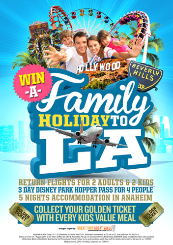 Win a Family Holiday to LA